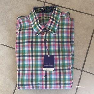 Alan Flusser men's dress shirt.